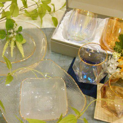 織部:夏にぴったりなガラス商品入荷しております!