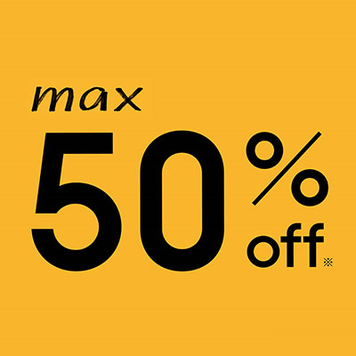 JINS:MAX50%OFF!JINSのFINAL SALE実施中!<br><br>
